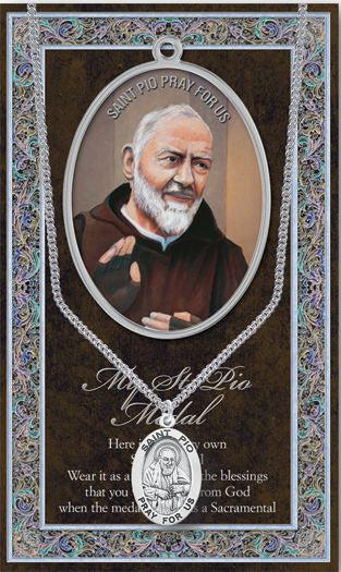 St. Padre Pio Medal - Catholic Shoppe USA