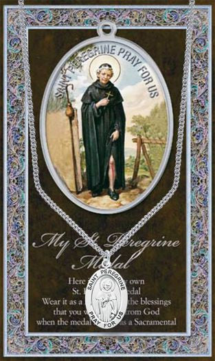 St. Peregrine Medal - Catholic Shoppe USA