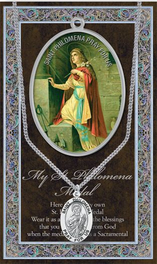 St. Philomena Medal - Catholic Shoppe USA