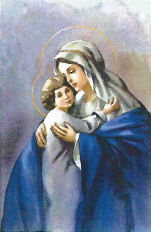 The Madonna and the Boy Jesus - Josyp Terelya - Catholic Shoppe USA - 1