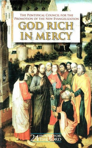God Rich in Mercy - 24 Hours for The Lord - Catholic Shoppe USA