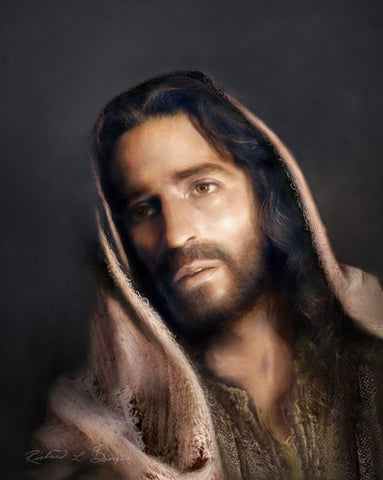 Portrait of the Christ Print
