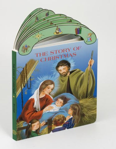 St. Joseph Carry-Me-Along Board Book - The Story of Christmas - Catholic Shoppe USA