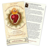 Jesus, I Surrender Myself to You, The Surrender Novena Trifold Holy Card