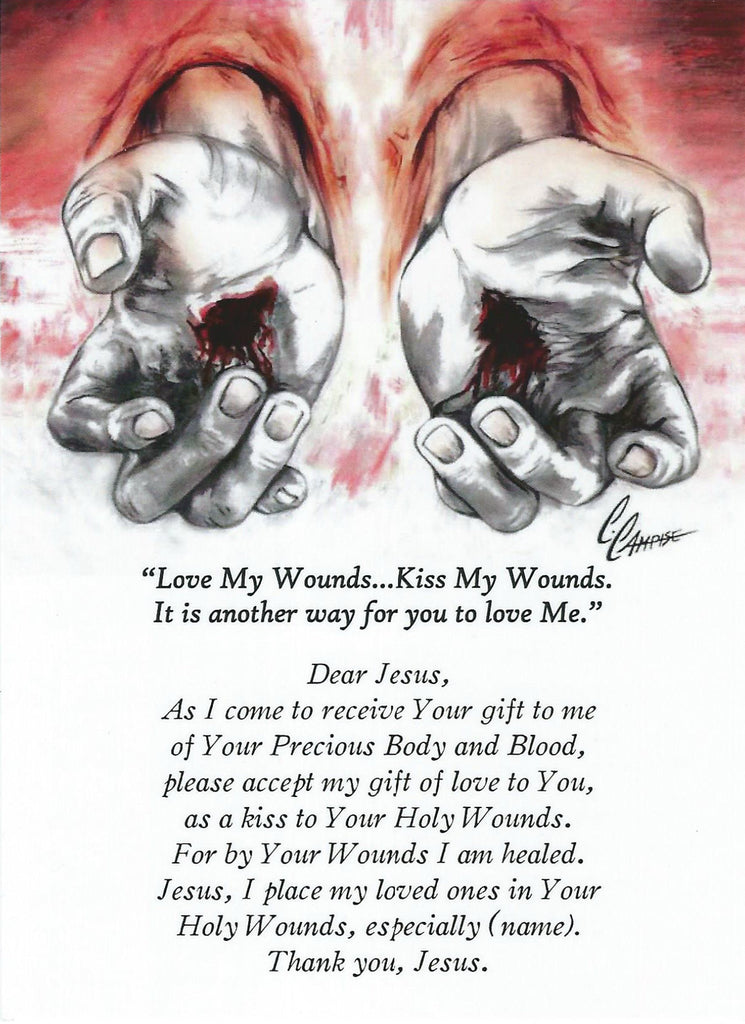 The Wounded Hands of Jesus - Catholic Shoppe USA