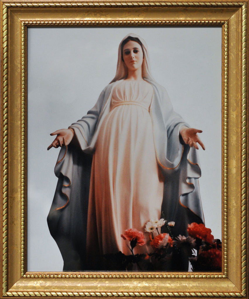 Tihaljina Madonna Print Framed - Catholic Shoppe USA