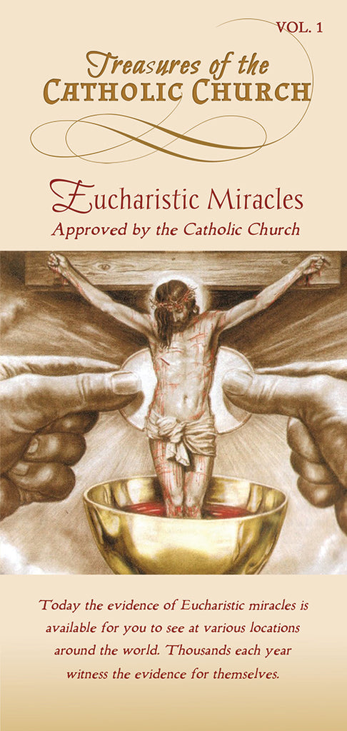 Treasures of the Catholic Church - Eucharistic Miracles Approved by the Catholic Church