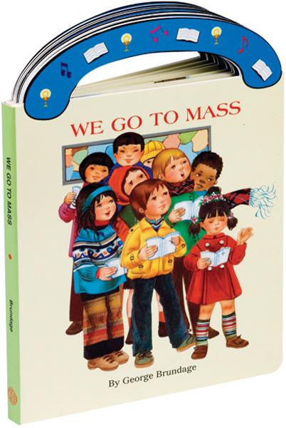 St. Joseph Carry-Me-Along Board Book - We Go to Mass - Catholic Shoppe USA - 1