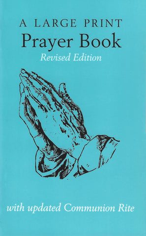 A Large Print Prayer Book