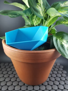 Geometric Bowl Self-Watering Spike for House Plants