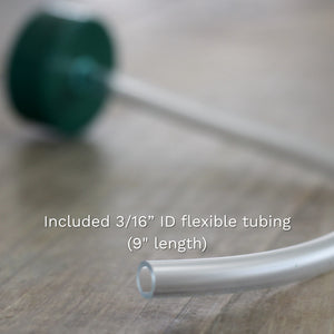 bottle adapter with tubing