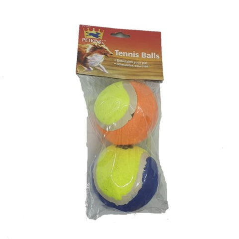 Tennis balls for pets.