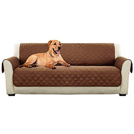 3-Seater Pet Couch Cover - BROWN - 4aPet