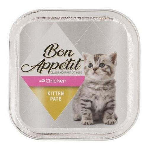 Bon Appetit Kitten Paté With Chicken - 100g Pet Food Bon Appetit - 4aPet