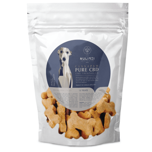 Cannapaw CBD Pet Treats (Certified USDA Organic Full Spectrum CBD)