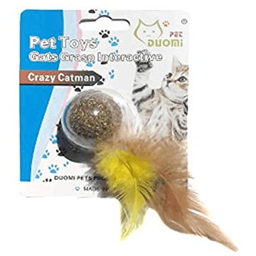 Cat Grasp Pet Toy with Feather