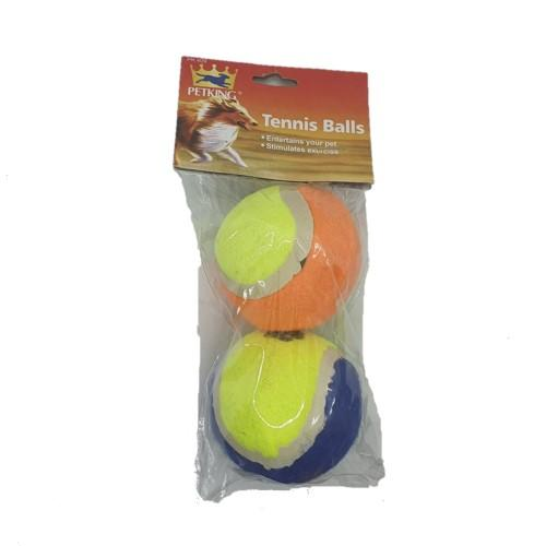 Dog Tennis Balls (2pc) Dog Toys 4akid - 4aPet