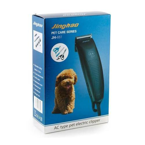 Electric Pet Hair Clipper (JH-661) Grooming Products 4aPet - 4aPet