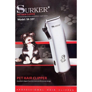 Electric Pet Hair Clipper (SK-107). In packaging.