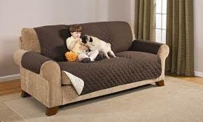 2-Seater Pet Couch Cover - BROWN - 4aPet