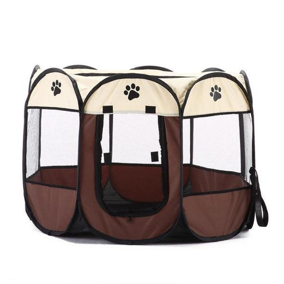 Foldable Portable Pet Playpen - Large