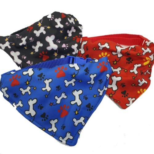 Medium Pet Bandanna - ASSORTED COLOURS - 4aPet