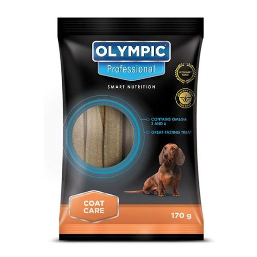 Olympic Professional Coat Care Dog Treats - 170g Pet Treats Olympic Pets - 4aPet