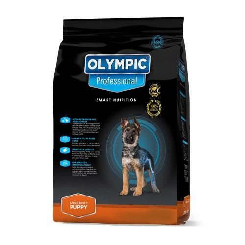 Olympic Professional Large Breed Puppy Dog Food - 8KG Pet Food Olympic Pets - 4aPet