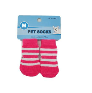 Medium Pet Socks - ASSORTED DESIGNS - 4aPet