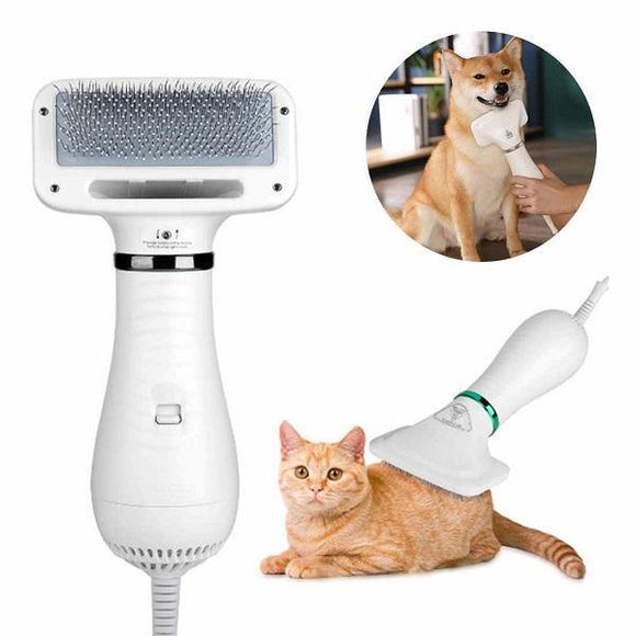 Pet Grooming Dryer used on a cat and dog.