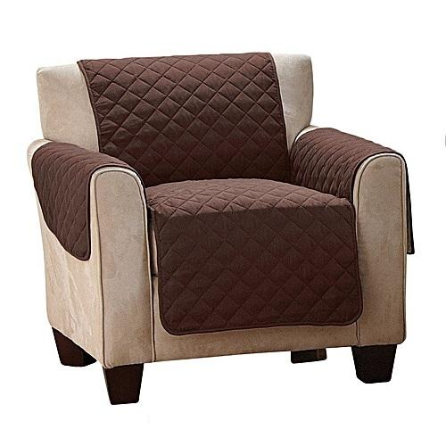 1-Seater Pet Couch Cover - BROWN - 4aPet