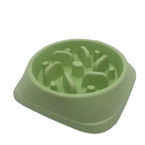 Slow Feeder Pet Bowl - Assorted Colours