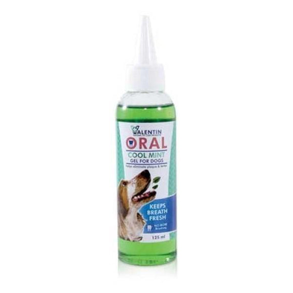 Valentin Cool Mint Oral Gel for Dogs - 125ml