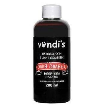 Vondi's - Om3 Omega Fish Oil: Joint, skin and fur tonic for pets Natural Pet Remedies Vondi's - 4aPet
