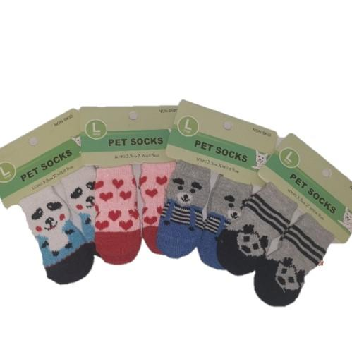 Large Pet Socks - ASSORTED DESIGNS - 4aPet