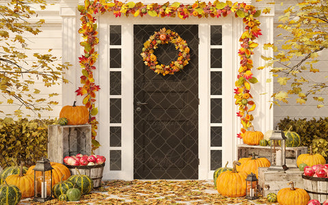 Fall Festive Porch