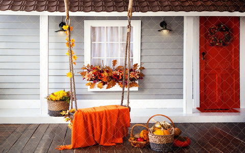 Fall Porch
