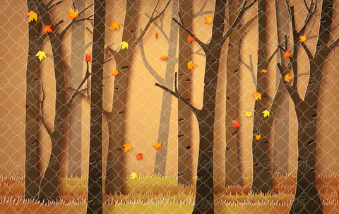 Fall Paper Forest