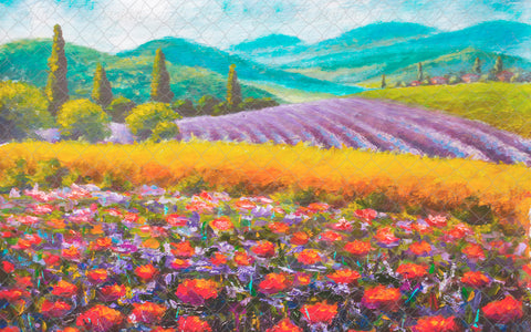 Floral Field 005