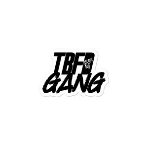 TBFD GANG Sticker