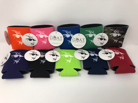 The G.O.A.T. Koozie 10 Pack