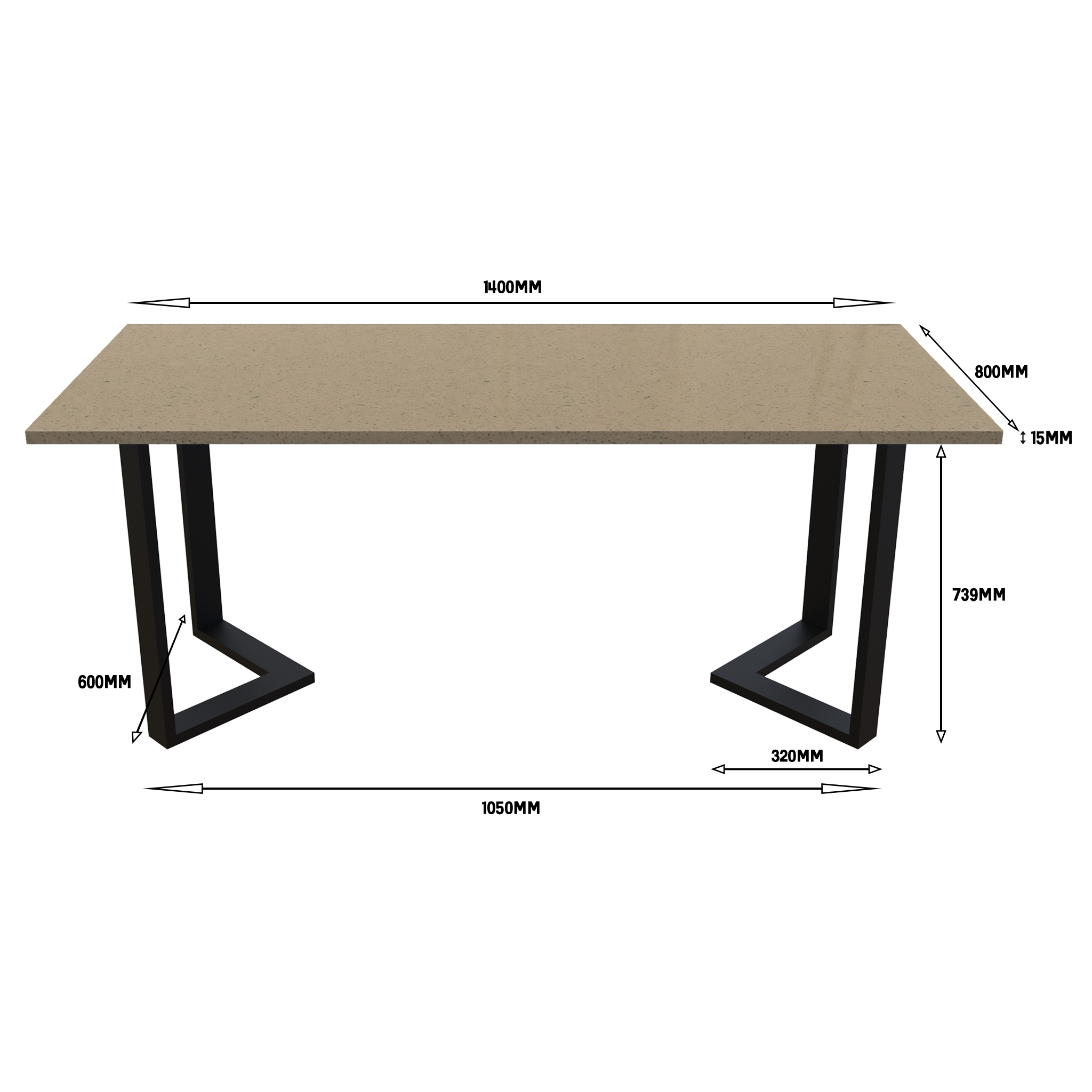 Quartz Dining Tables