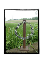 Load image into Gallery viewer, Wreath Stand Wooden Table Top Centerpiece Wreath Holder Decor and More