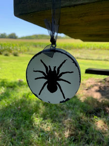 Spider Ornaments For Halloween Tree Decorations or Add To Gift Packages Baskets