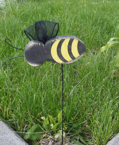 Bumble Bee Decorative Summer Pick