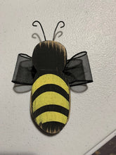 Load image into Gallery viewer, Primitive Rustic Bumble Bee Pick for Planter or Centerpiece - Heartfelt Giver