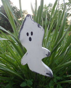 Halloween Ghost Picks Primitive Rustic Decor