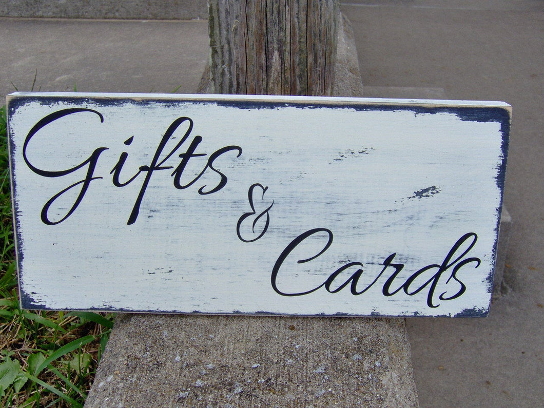 Gifts Cards Wood Vinyl Sign Stand Alone Design Mr Mrs Bride Groom Wedding Table Sign Tabletop Decor Distressed Rustic Farmhouse Sign Prop