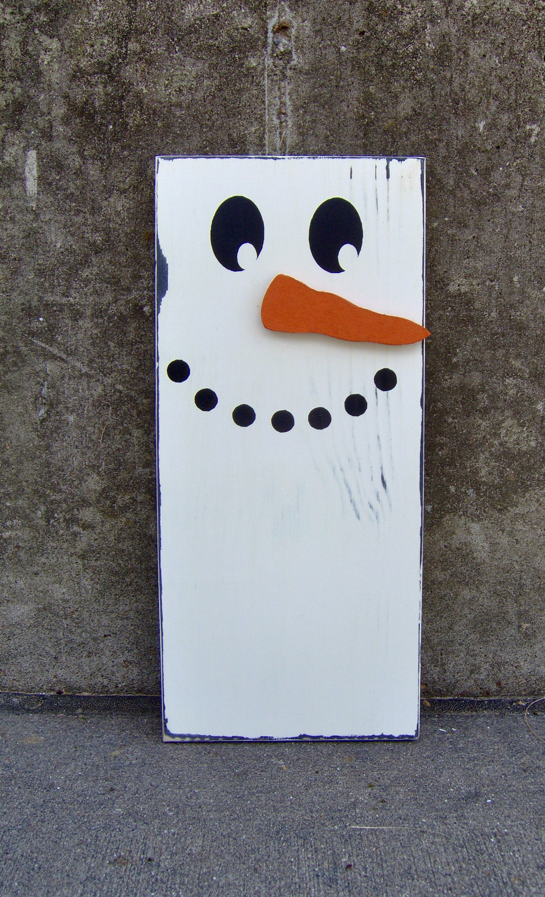 Snowman Wood Vinyl Home Decor Primitive Snowmen Decorations Farmhouse Distressed Wreath Sign Attachment Winter Decor Holiday Gifts Wall Art