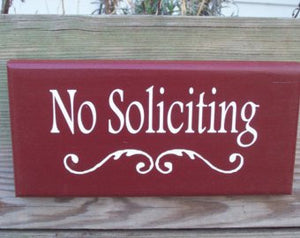 No Soliciting Wood Sign Vinyl Wood Signs For Home Porch Decor Signs For Front Door Outdoor Yard Art Privacy Sign Office Decor Business Sign
